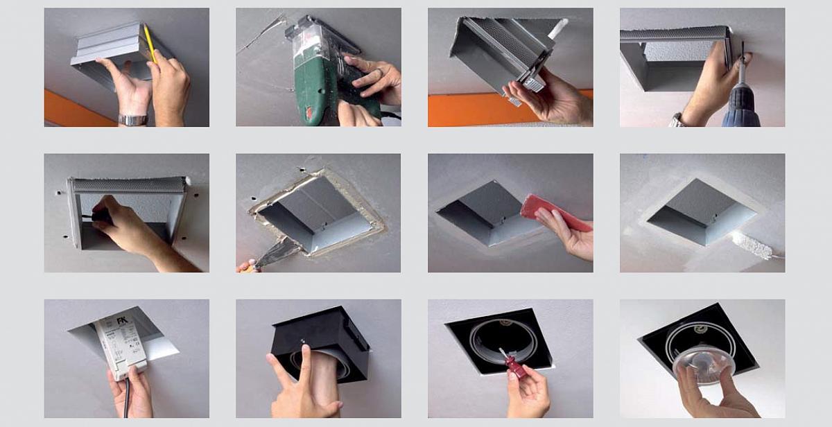 aixlight pro einbaustrahlersystem lte lichttechnik essen. Black Bedroom Furniture Sets. Home Design Ideas