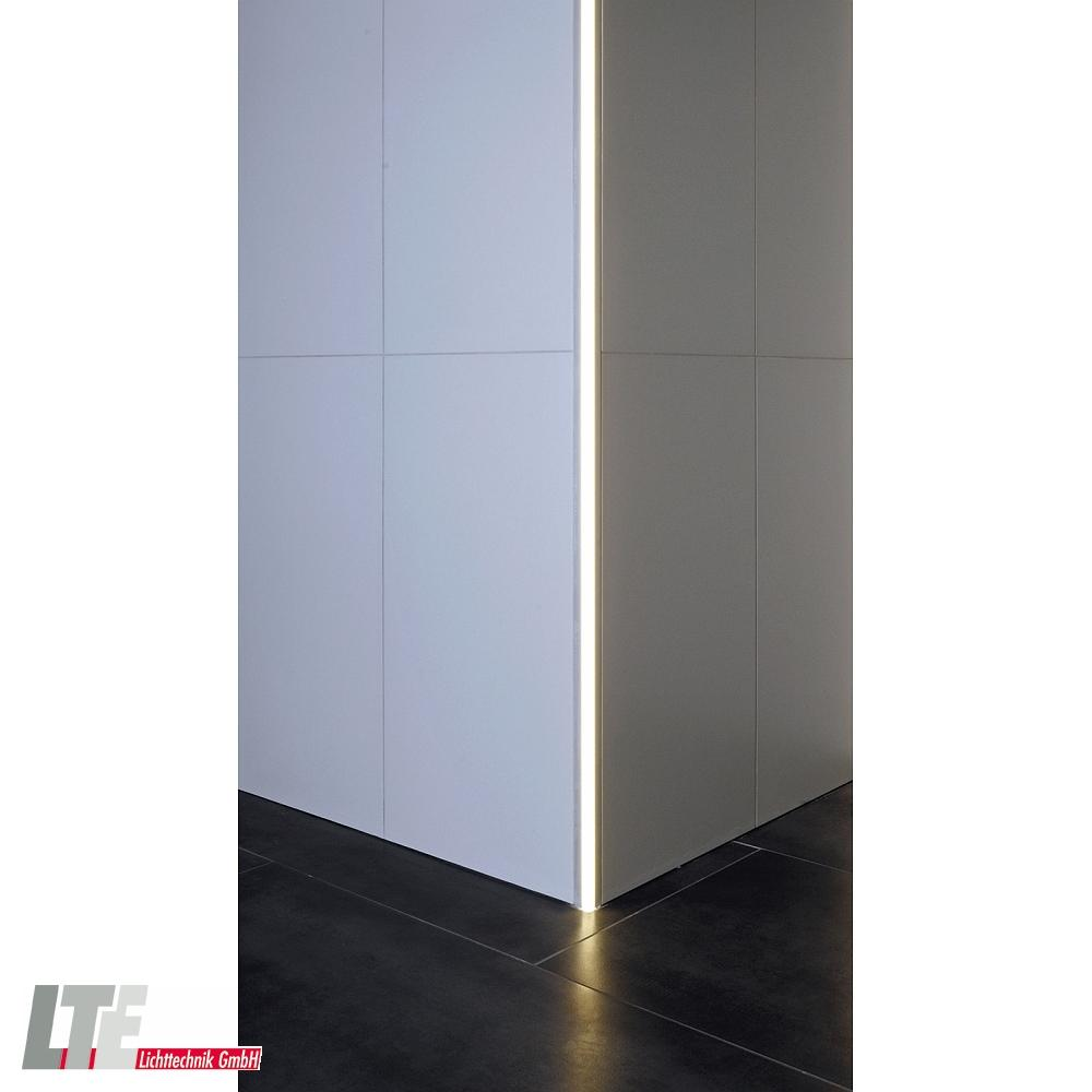 led profil ev 02 08 fliesen profil ecke au en f r 8 9 3mm led stripes 1250mm aluminium. Black Bedroom Furniture Sets. Home Design Ideas