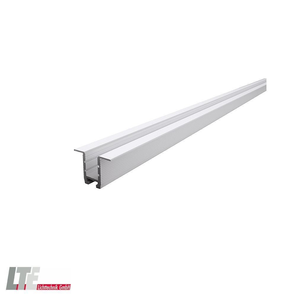 Deko Light Trockenbau Profil Wand Decke ET 20 20 für 20   20,20 LED Strips,  Länge 20, weiß matt