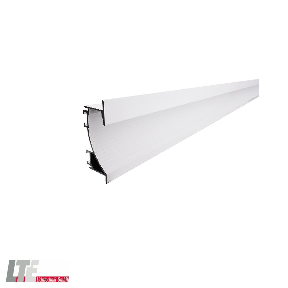Deko Light Trockenbau Profil Wandvoute EL 20 20 für 20   20,20 LED Strips,  Länge 20m, weiß matt
