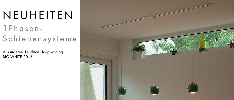 komponenten f r 1phasen schienensysteme lte lichttechnik essen. Black Bedroom Furniture Sets. Home Design Ideas